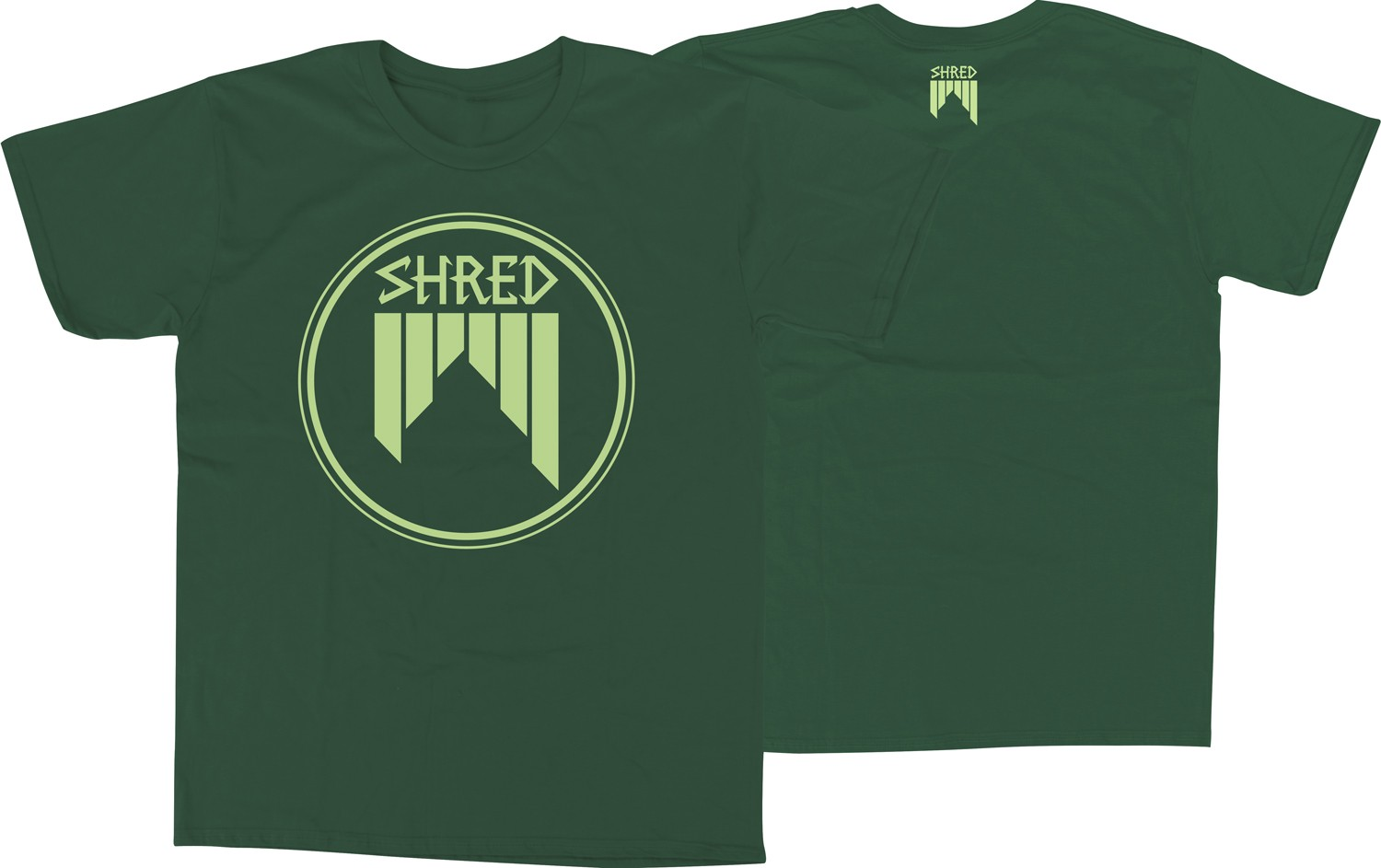 Shred T-shirt Concentric EU (unisex)