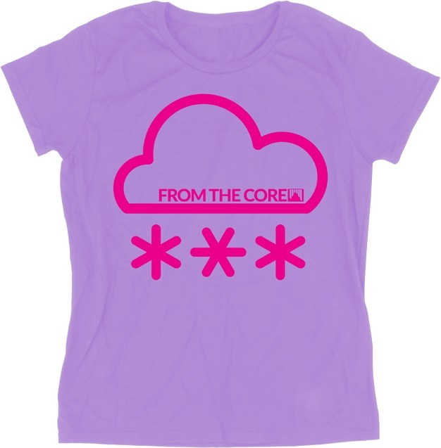 Shred Air purple women's T-shirt