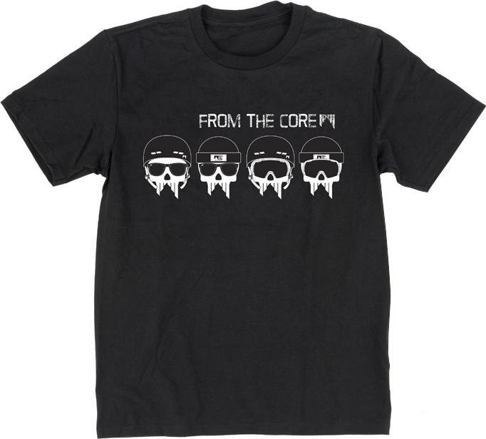 Shred SKULLS unisex t-shirt, M