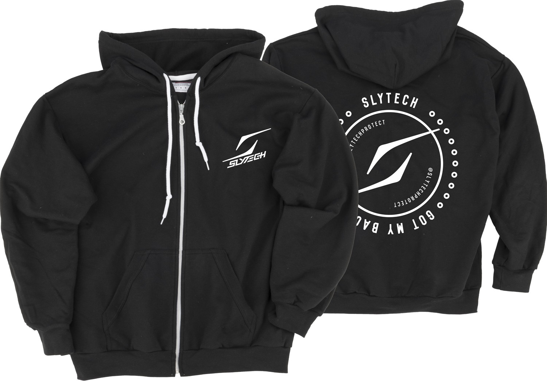 slytech hoodie logo