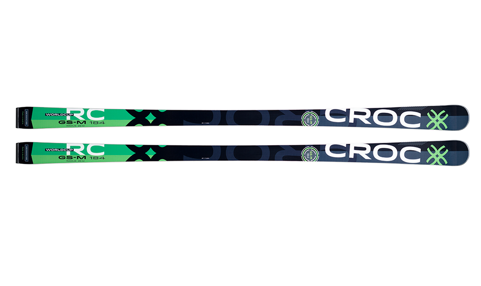 Croc GS Master WC skis w/plate and binding
