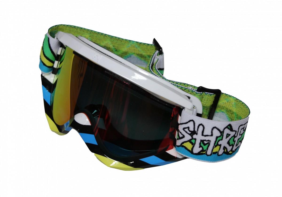 Shred polarized ski goggles SOAZA D-LUX - Lines