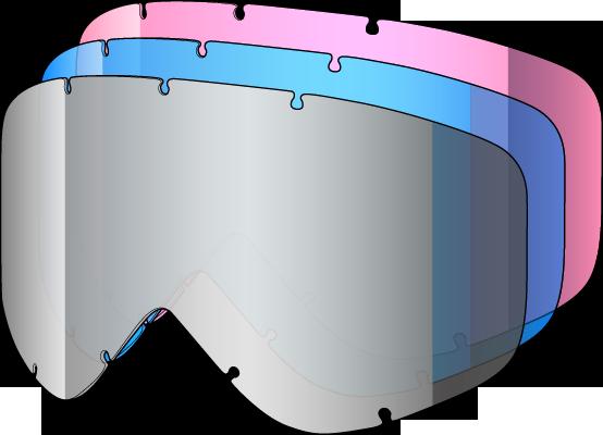 Shred Tastic/Yoni kit 3 lenses, mixed colors