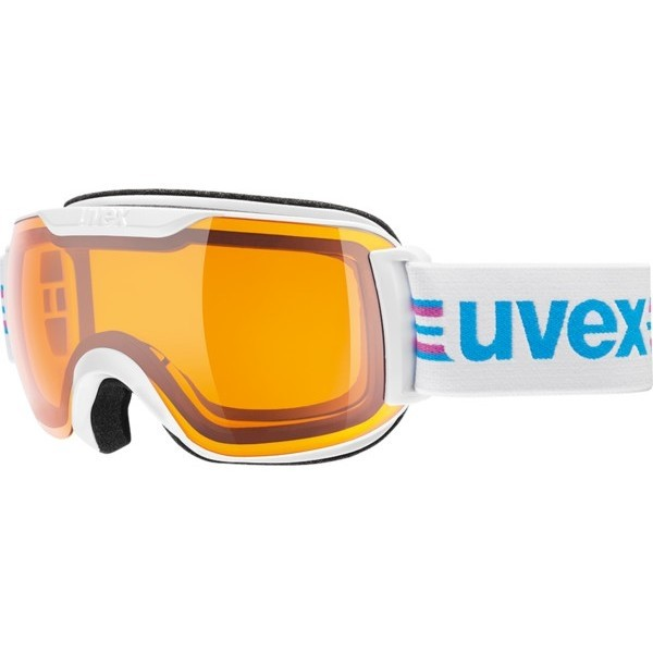 Uvex Downhill 2000 S Race white/black ski goggles