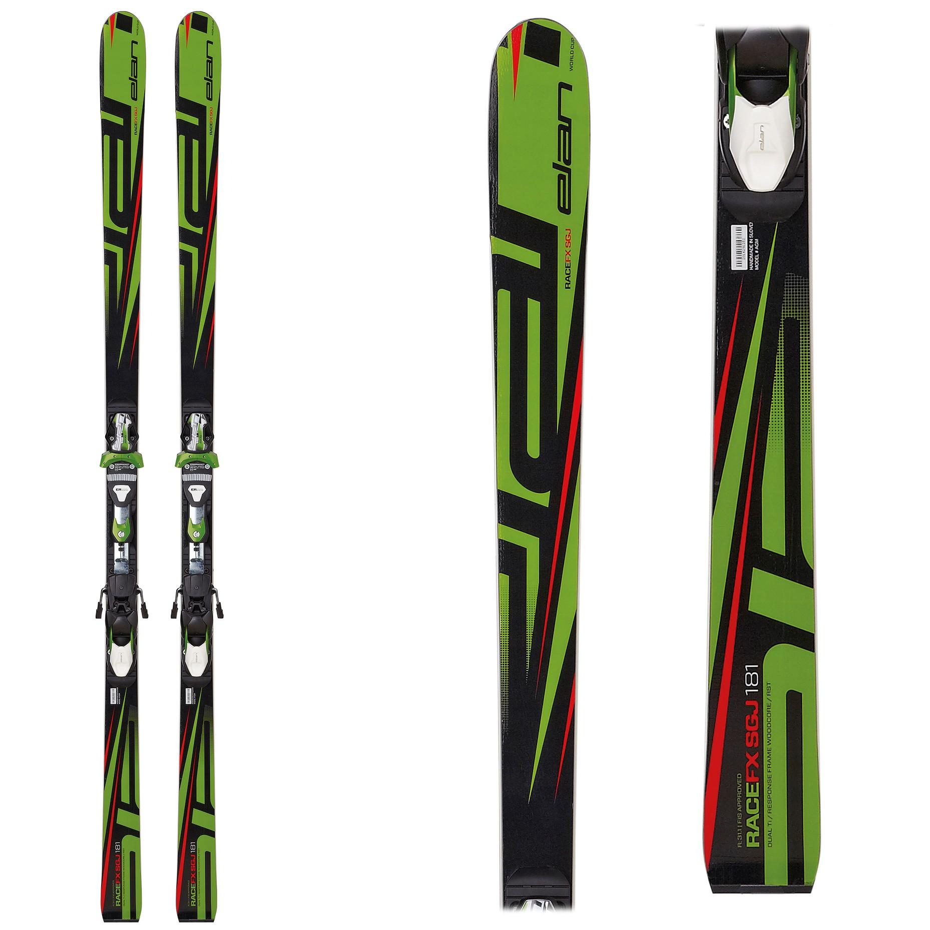 Elan FX SGJ plate, junior SuperG skis, 2017