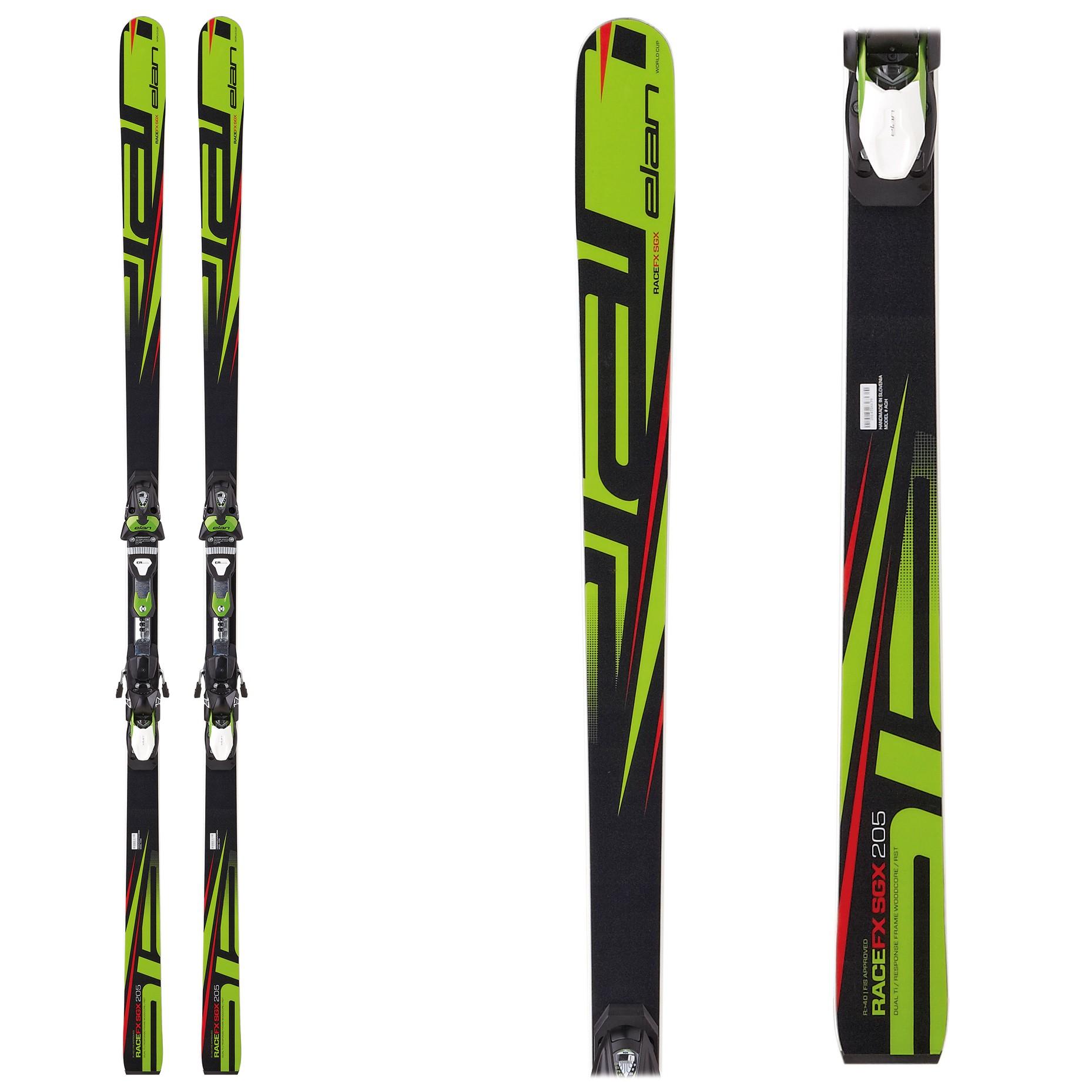 Elan FX SGX Plate, SuperG skis, 2017