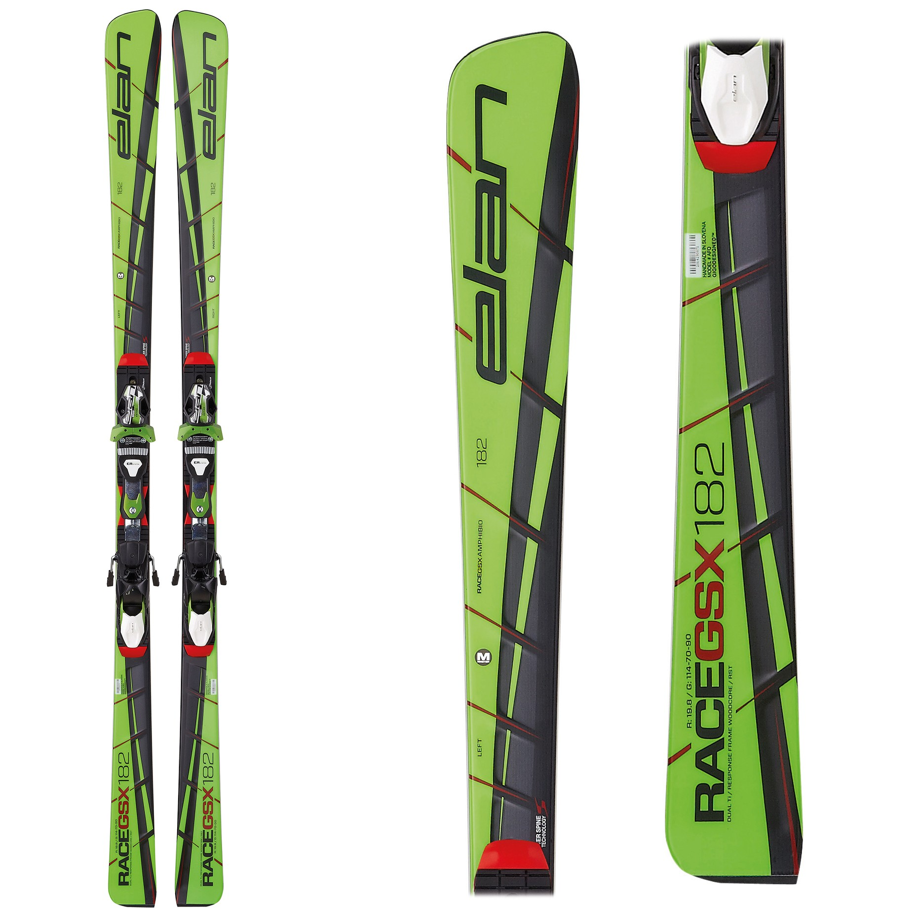 Elan GSX MASTER Plate, Racing GS skis, 2017