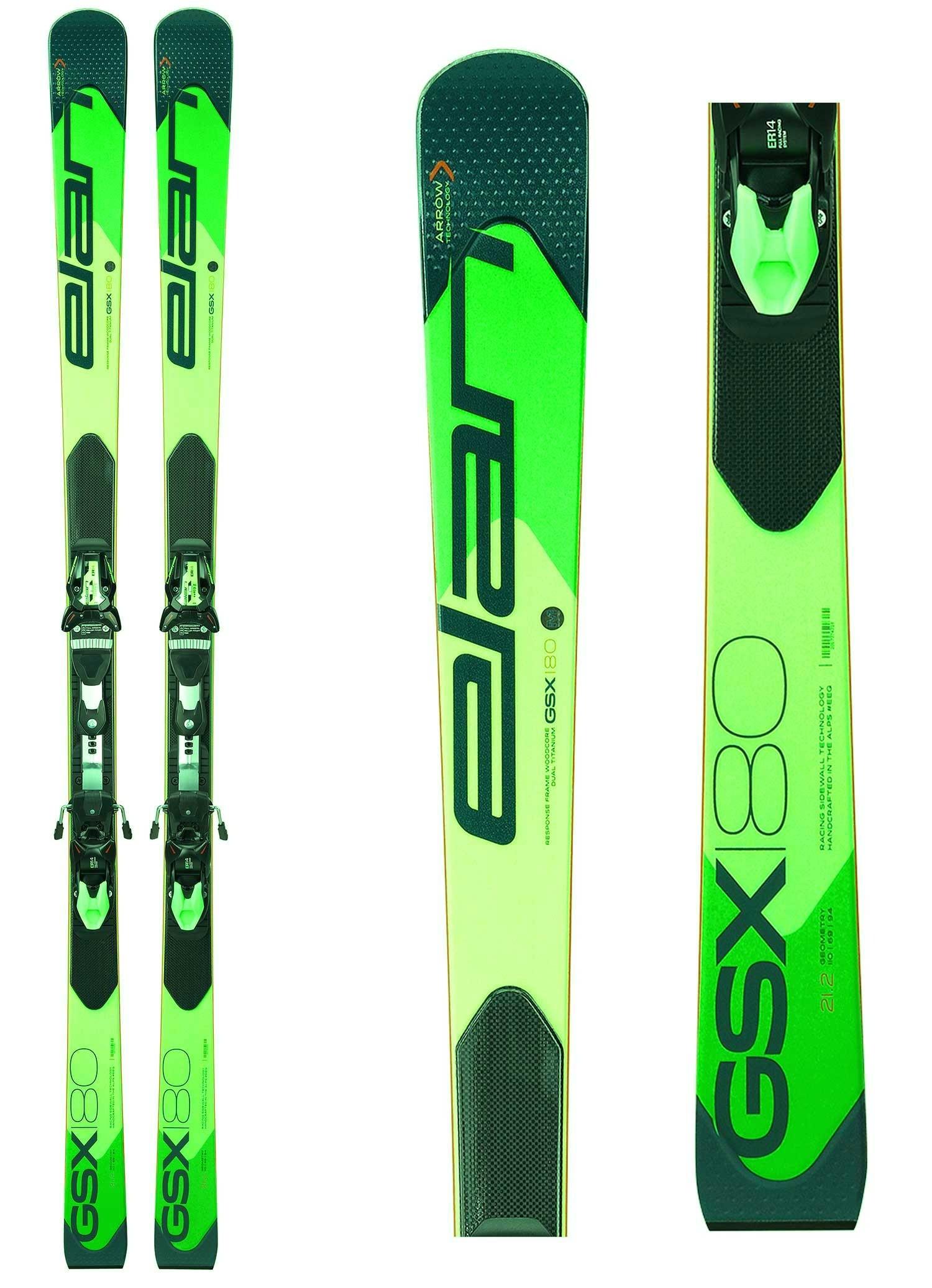 Elan GSX MASTER Plate, Racing GS skis, 2019