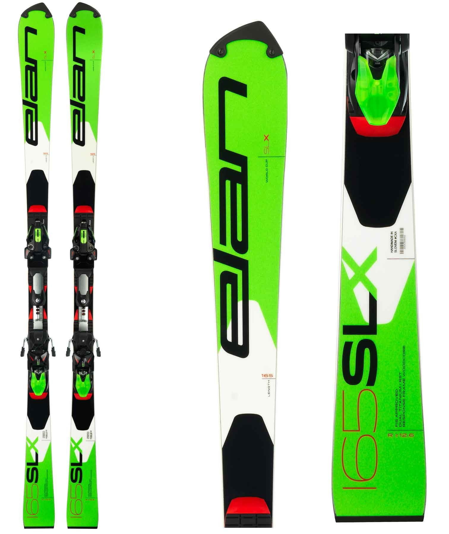 Elan SLX FIS World Cup Plate, racing slalom skis, 2019