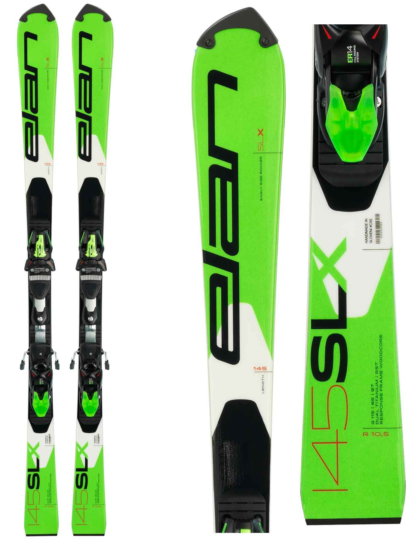 Elan SLX Team Plate - Slalom Junior Skis, 2019