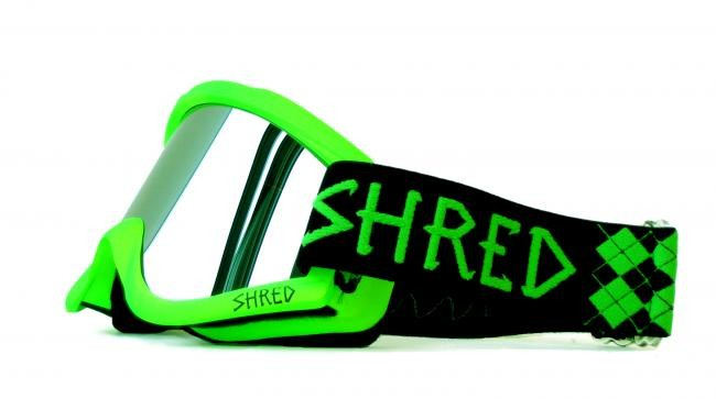 SHRED goggles - Nastify green
