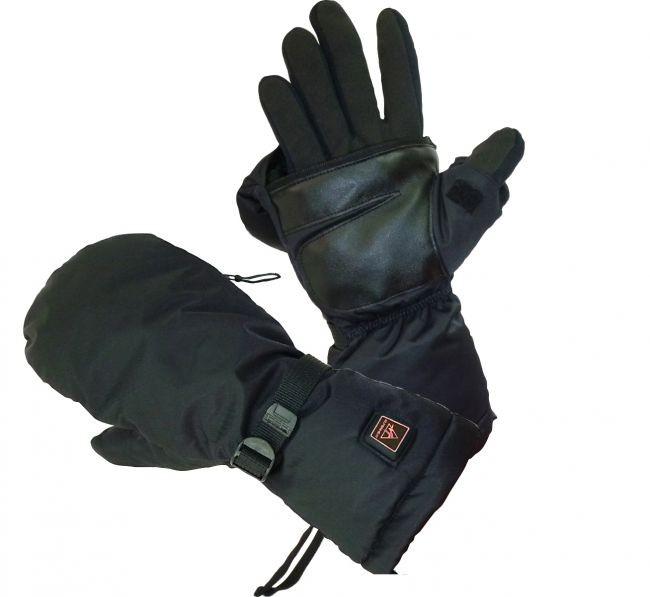 grelne in ogrevane smučarske rokavice na en prst