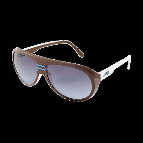 Sunglasses Shred GUSTAF - white/brown