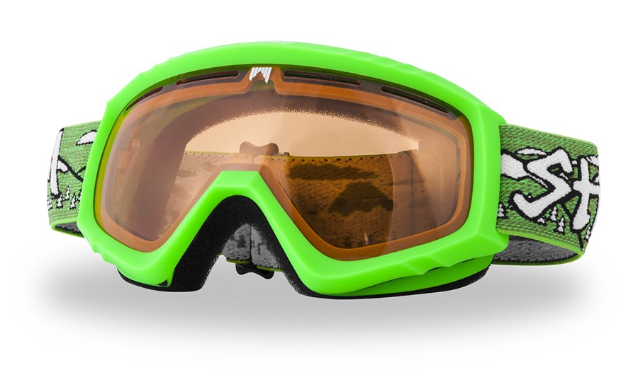 Junior ski goggles Shred HOYDEN WhyWeShred - green