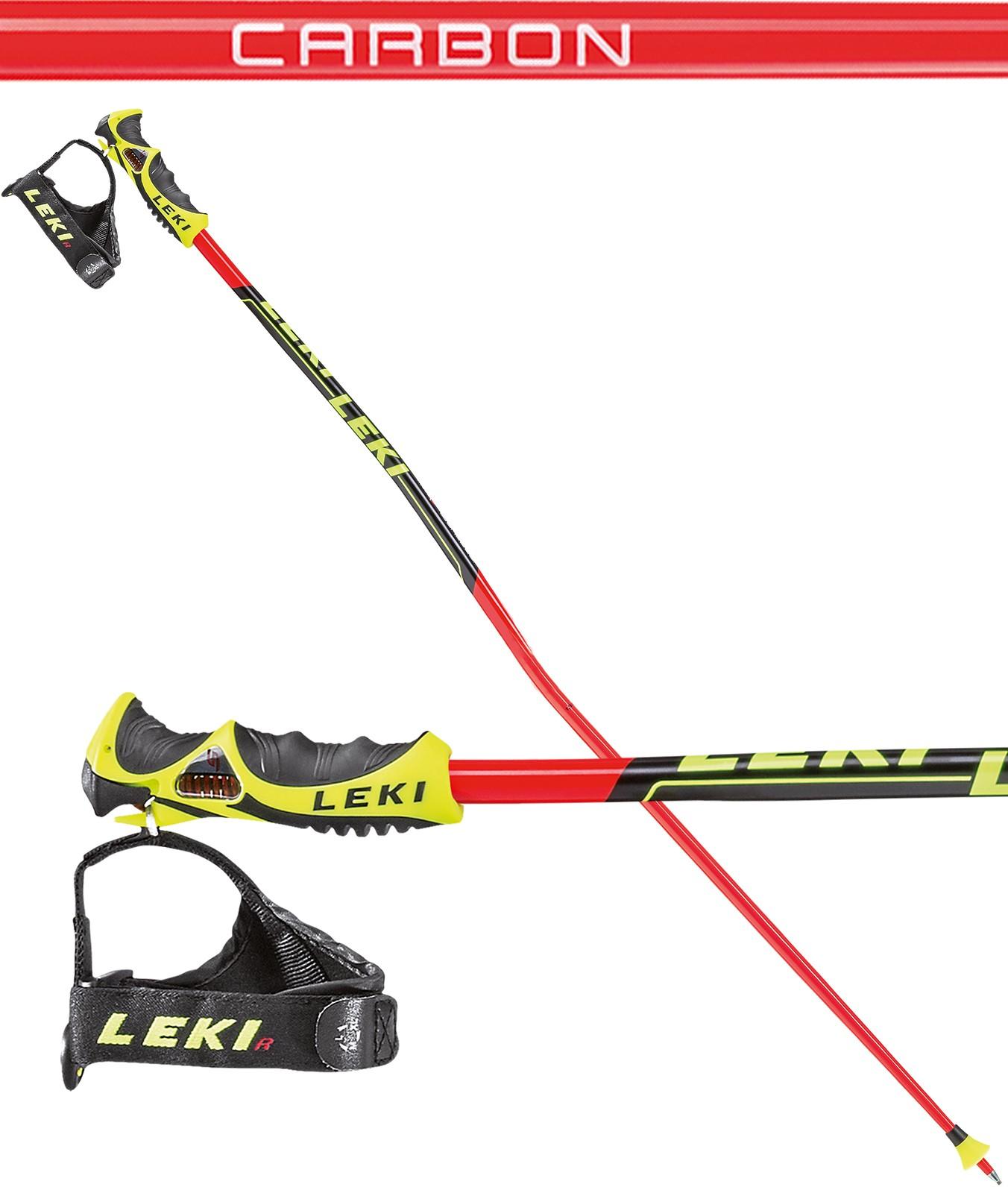 Leki Carbon GS TR-S ski poles, 2018