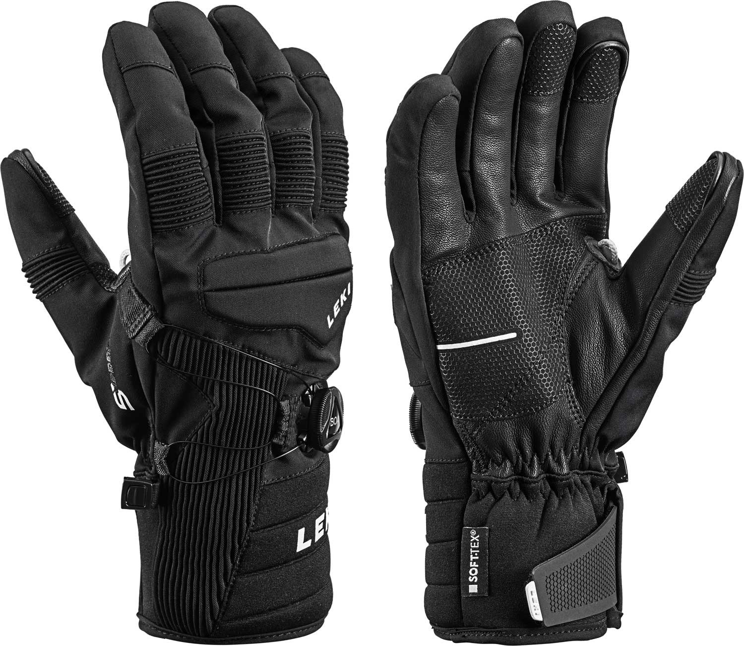Leki Progressive Tune S Boa 174 Mf Touch Gloves 2019