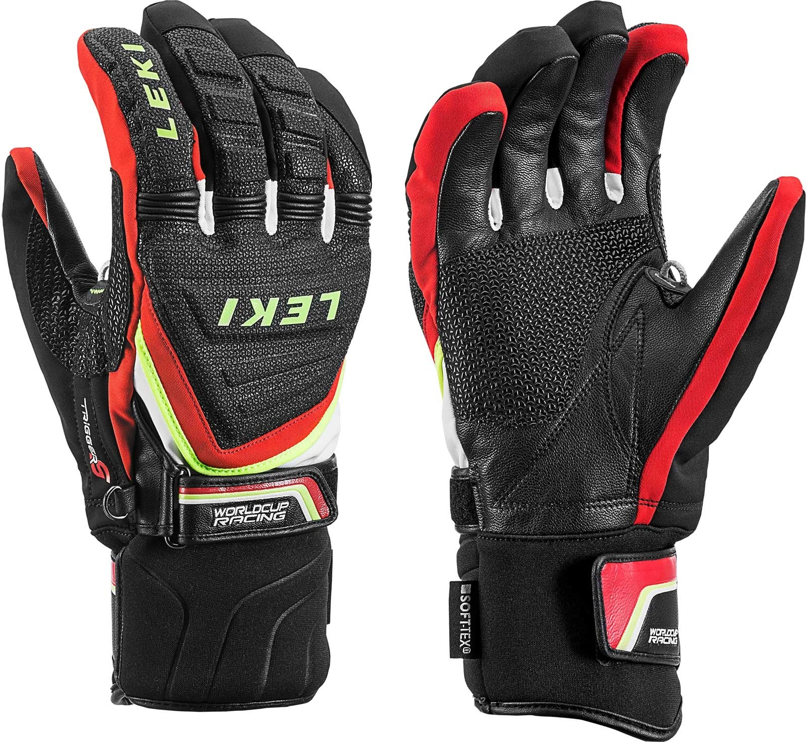 Leki Race Coach C-tech S ski gloves, 2018