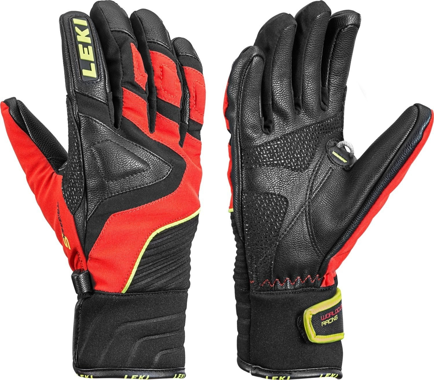 Leki Race Slide S junior ski gloves, 2019
