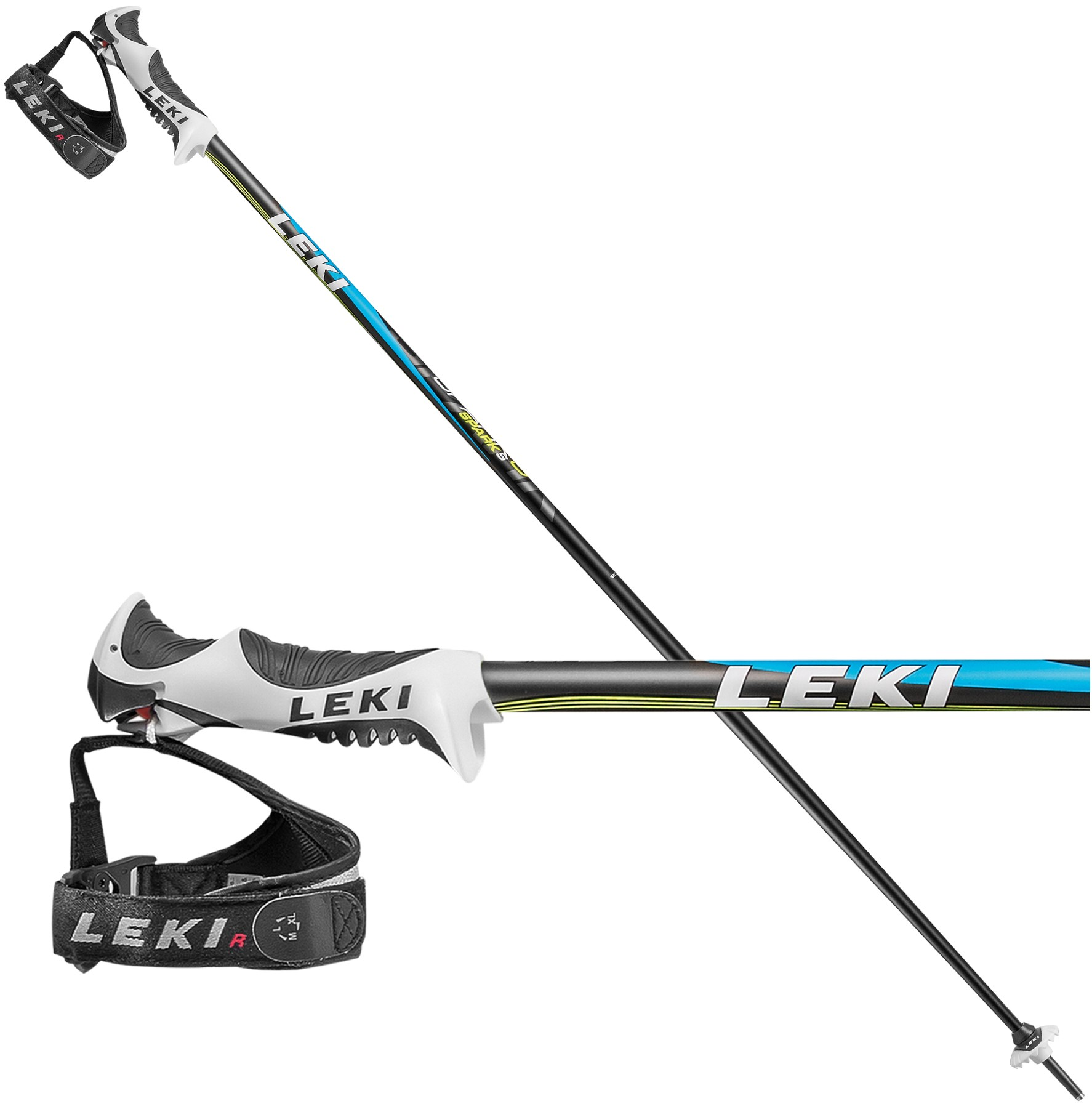 Leki Spark S ski poles, 2017
