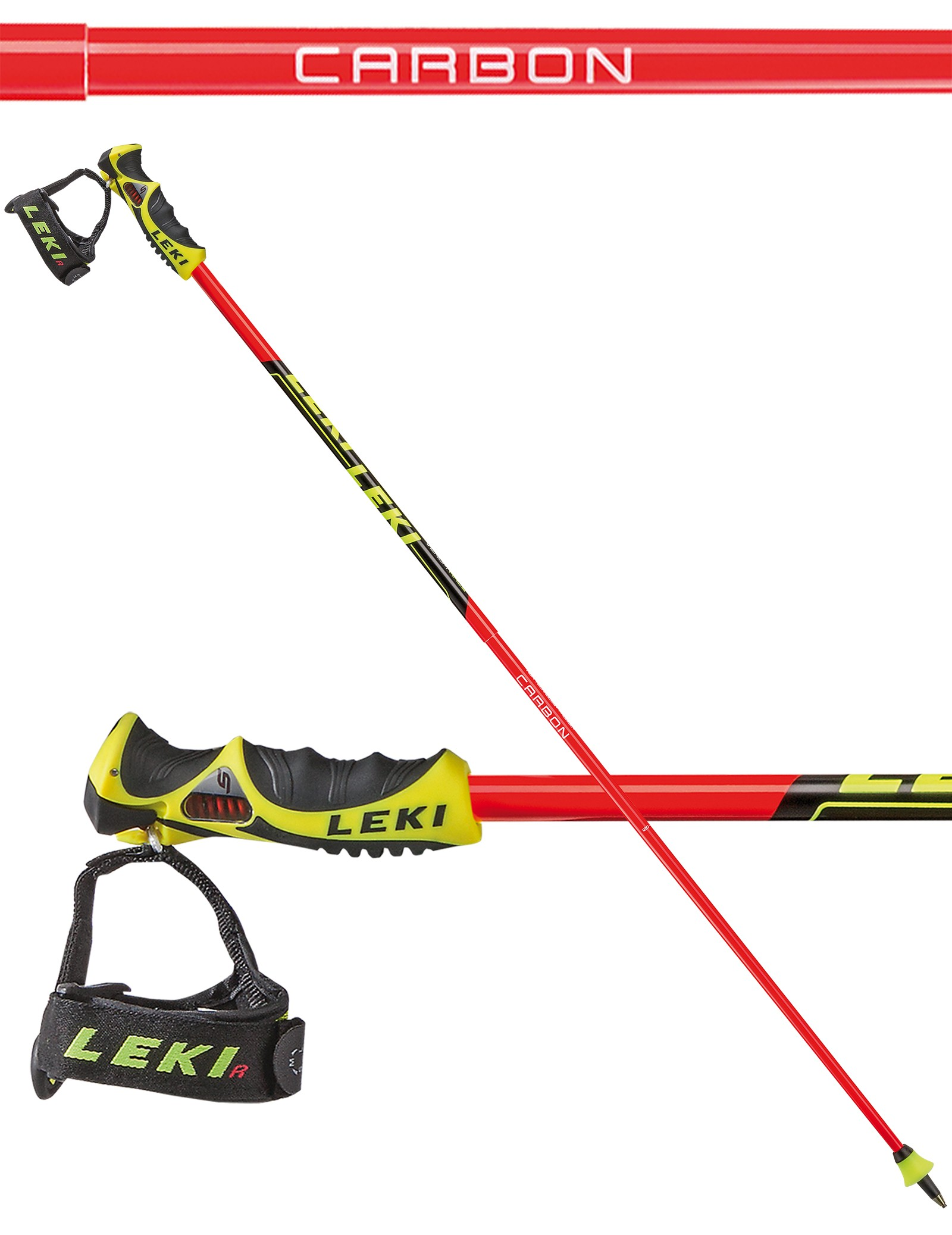 Leki Venom GS TRS ski poles, 2018