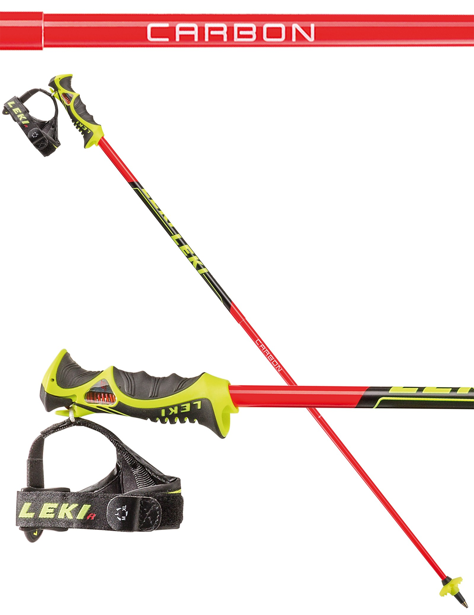 Leki Venom SL TR-S ski poles, 2017
