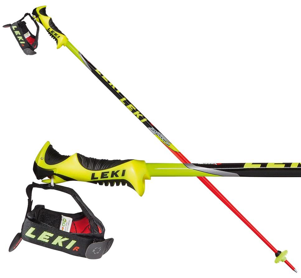 Leki World Cup Lite SL TR-S, junior slalom poles