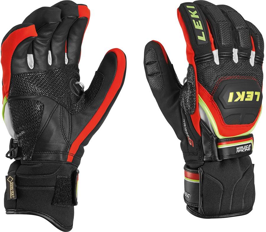 Leki World Cup Race Coach Flex S GTX ski gloves, 2018