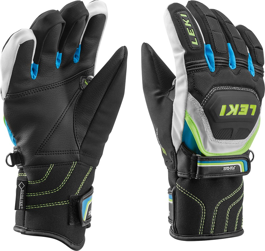 Leki WC Race Coach Flex S GTX Junior ski gloves, 2018