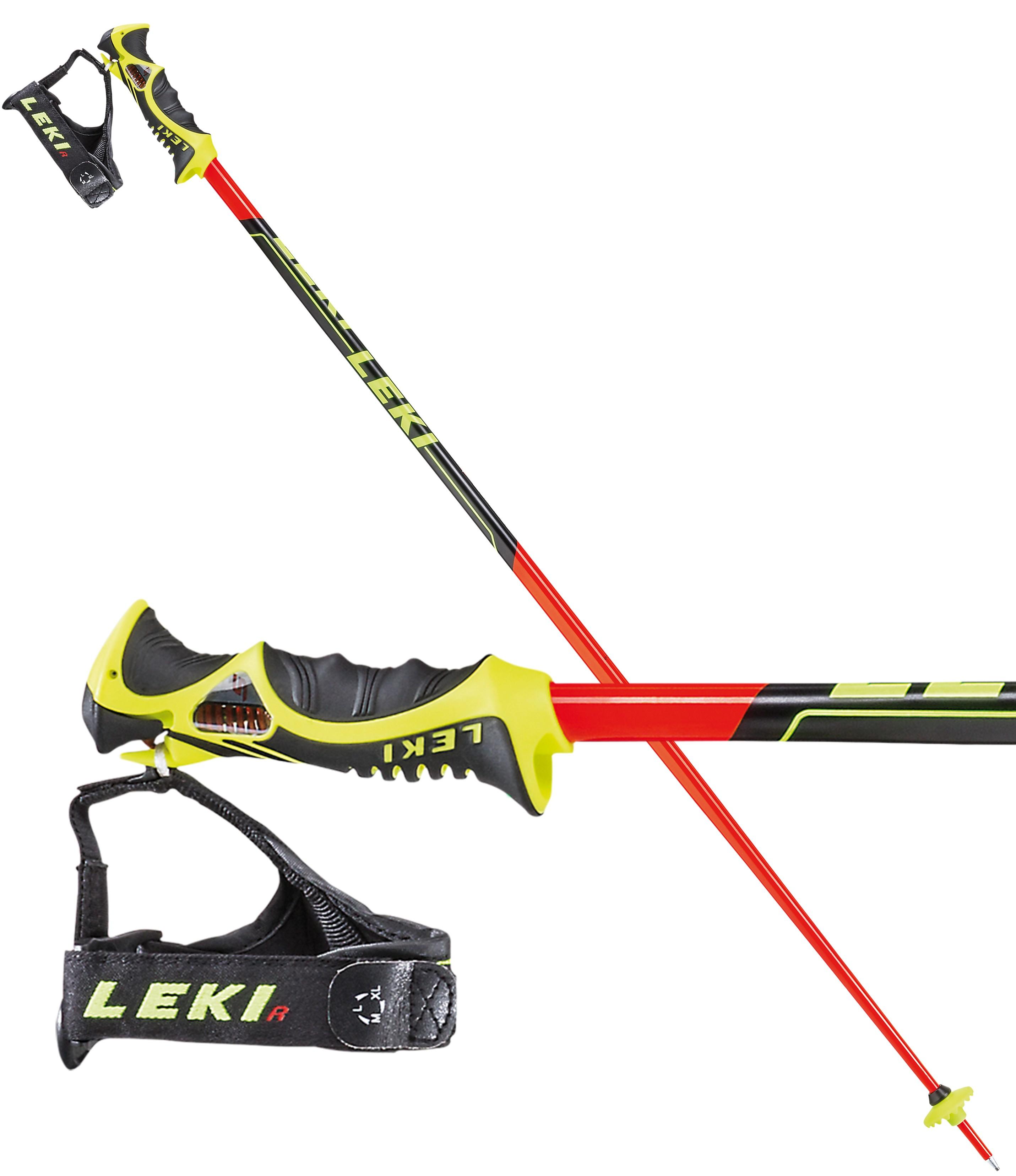 Leki worldcup racing SL trigger S slalom poles d065e40bc77