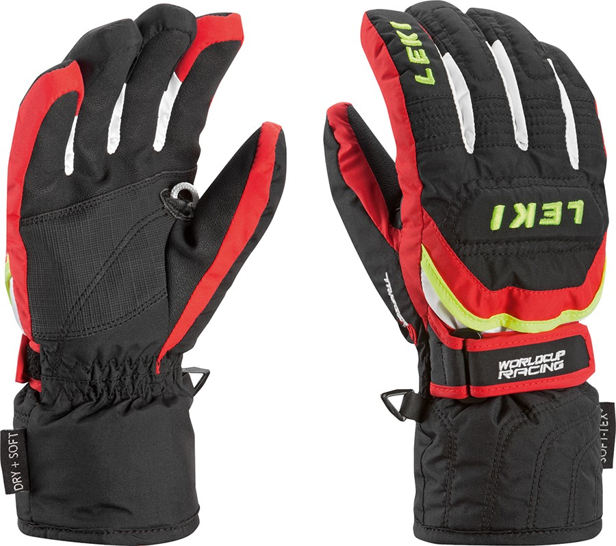 Leki Worldcup S Junior  ski gloves, 2018