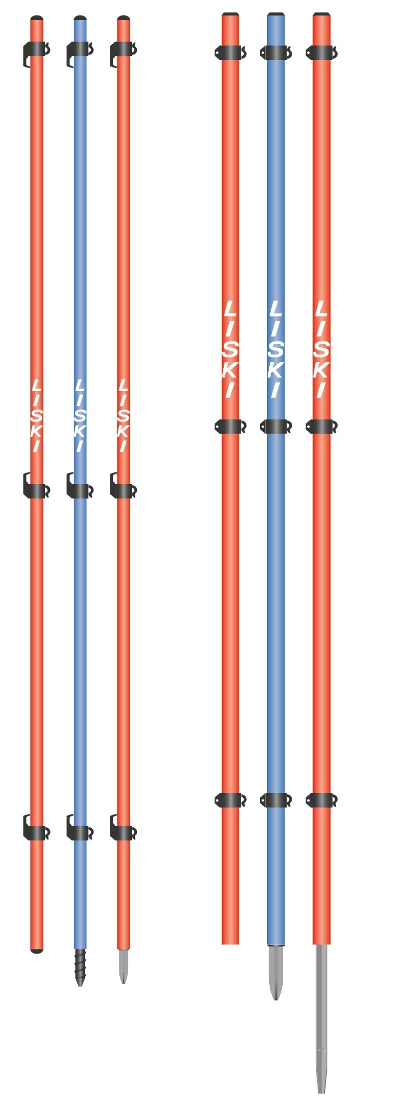 Liski delimiting support net poles, 250cm
