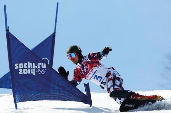 Liski snowboard slalom/parallel SL panels, no print
