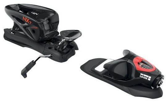 Look bindings NX JR 7 Lifter B73, Black icon