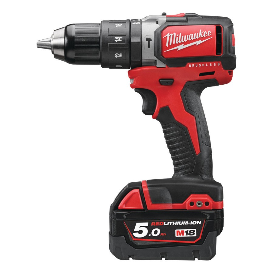 Milwaukee M18 FUEL™ PERCUSSION DRILL BLPD 18V, 5.0 Ah