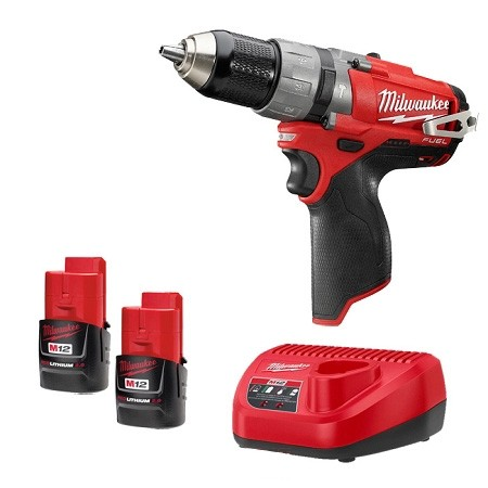 Milwaukee M12 CPD 202C FuelTM Compact 2 Speed Percussion Drill