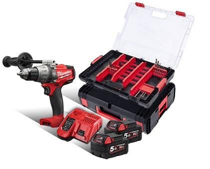 Milwaukee M18 FUEL™ PERCUSSION DRILL FPD 502X 18V, 5.0 Ah + GIFT