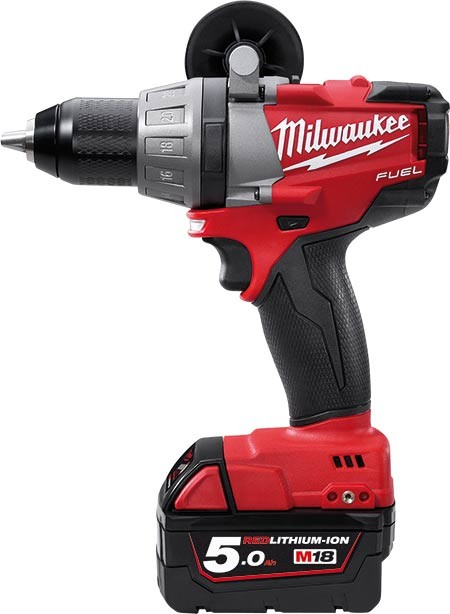 Milwaukee M18 FUEL™ PERCUSSION DRILL CPD 18V, 5.0 Ah