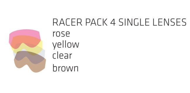 Racer pack SOAZA JUNIOR - 4 lenses