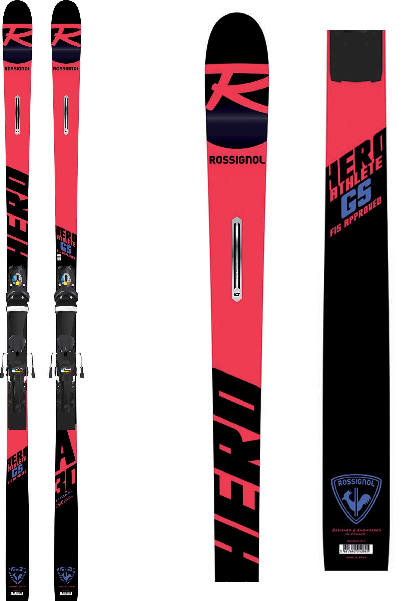 Rossignol skis Hero Athlete FIS GS (R22), 2019