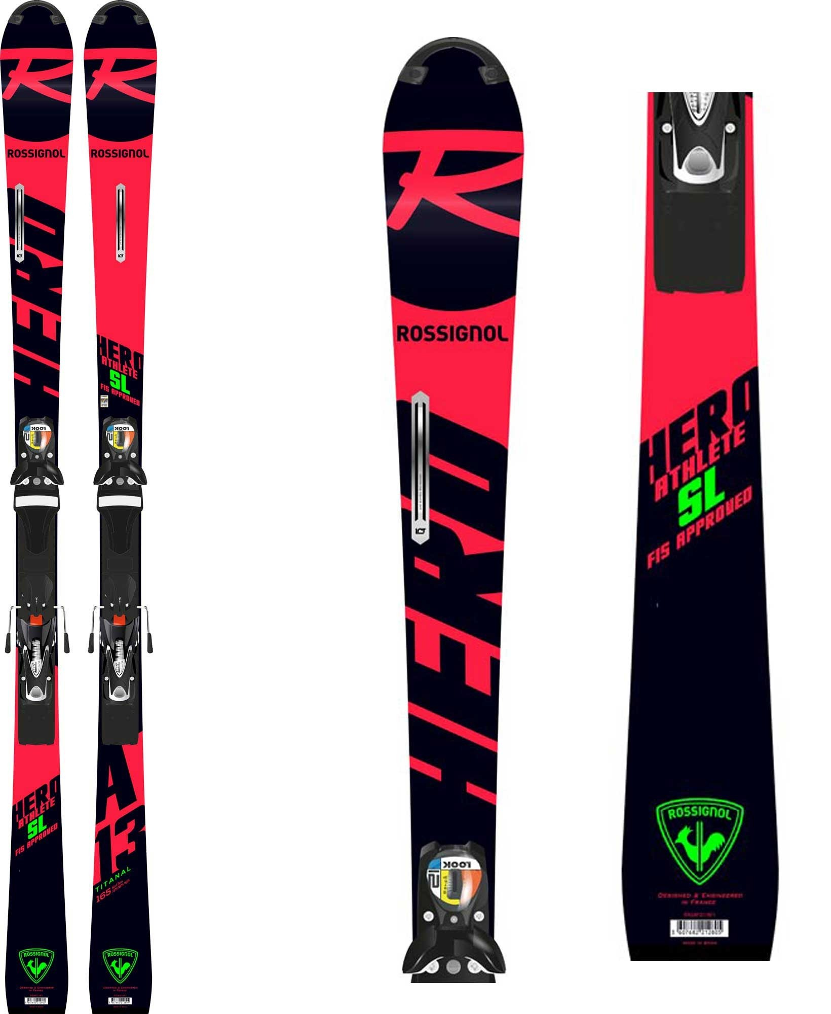 e94eaa74a10 Rossignol skis Hero Athlete FIS SL (R22), 2019