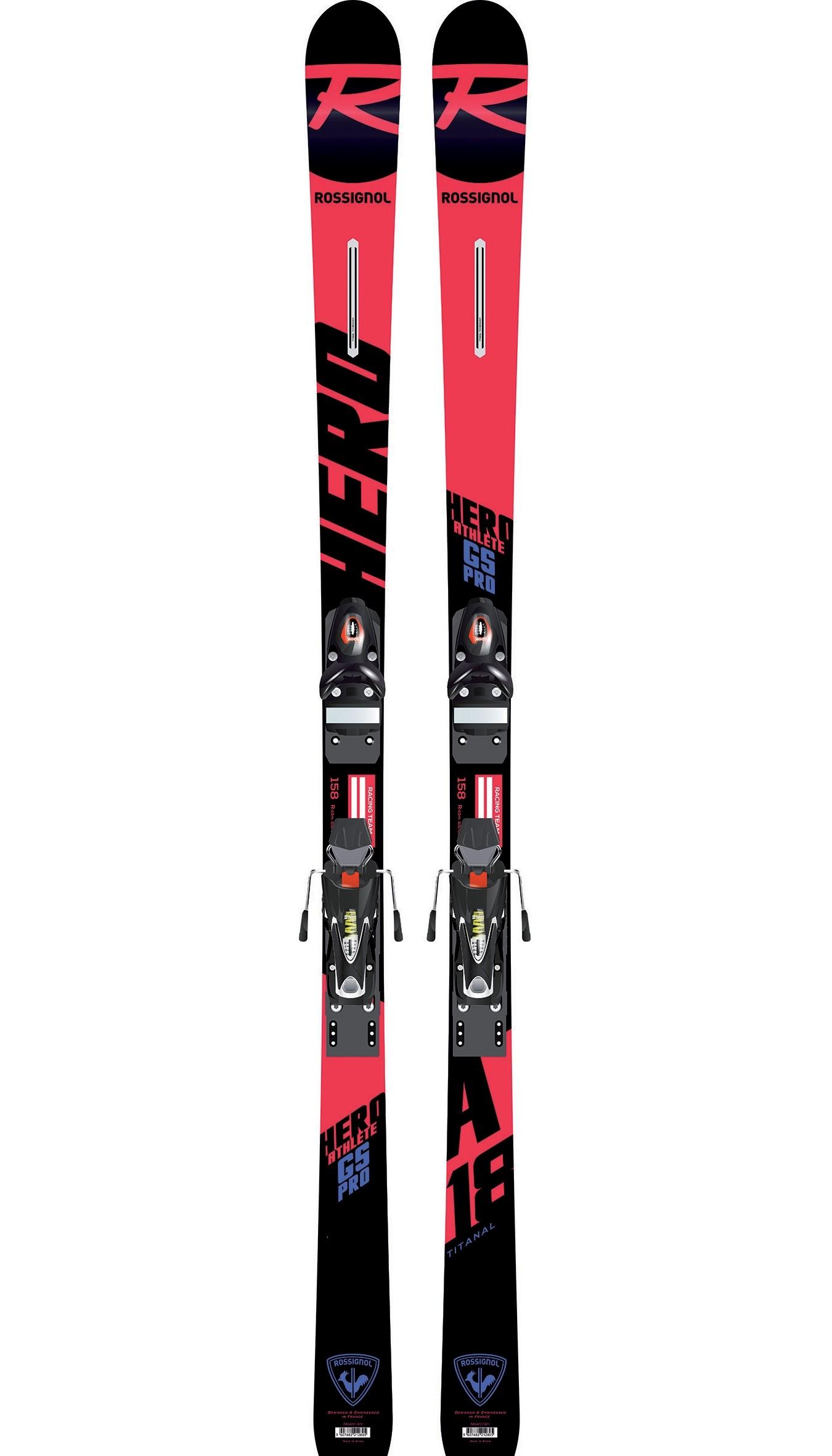 Rossignol skis Hero Athlete GS PRO JR, 2019