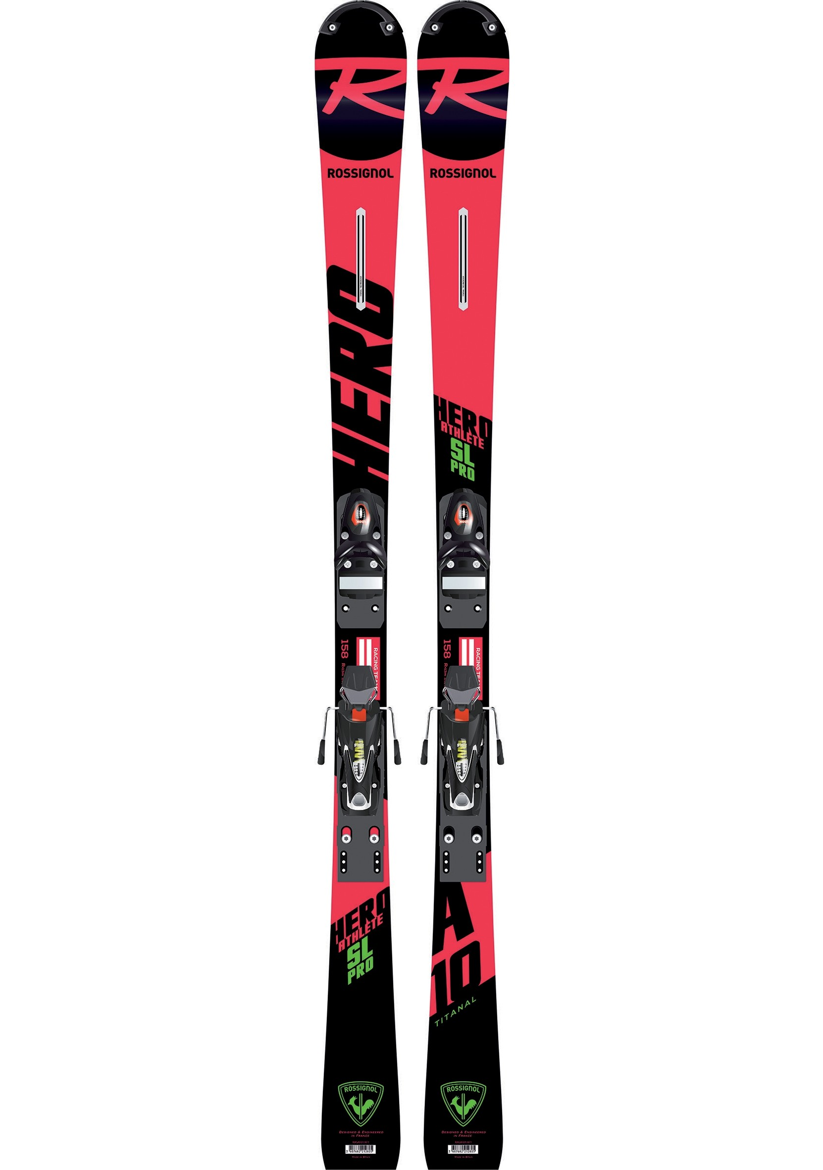 rossignol skis hero athlete sl pro jr 2019
