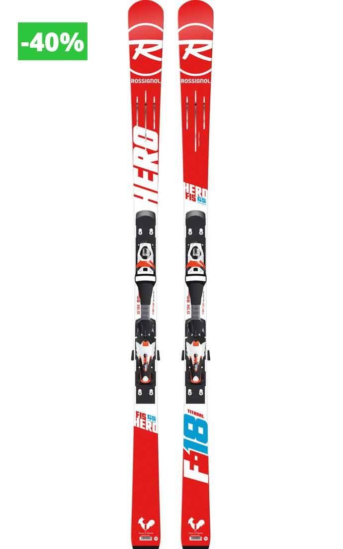 Rossignol Hero FIS GS PRO (R20 PRO), 165 cm + AXIAL3 100 B73