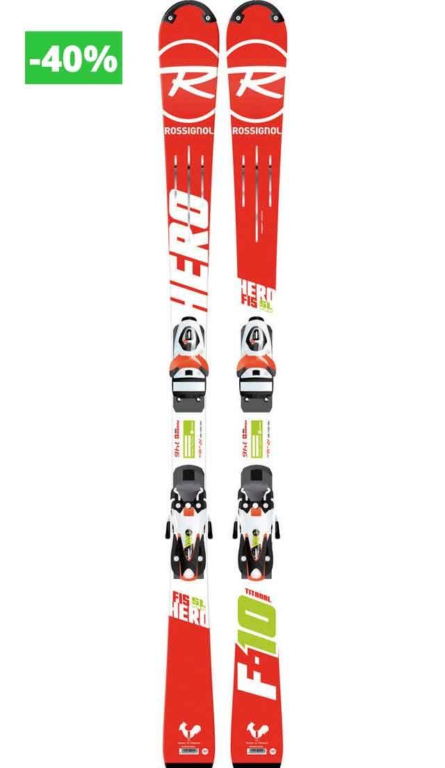 Rossignol Hero FIS SL PRO (R20 PRO), 146 cm + AXIAL3 100 B73