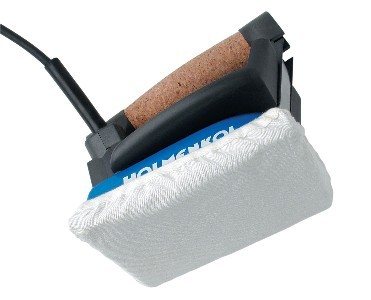 Protective fleece for iron