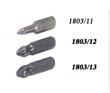 Bits for screwdriver holder, pdz