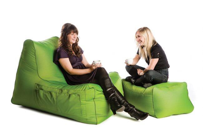 Sedežna vreča počivalnik r lax zelen