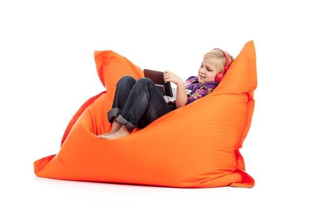 sedežna vreča sit on it oranžna