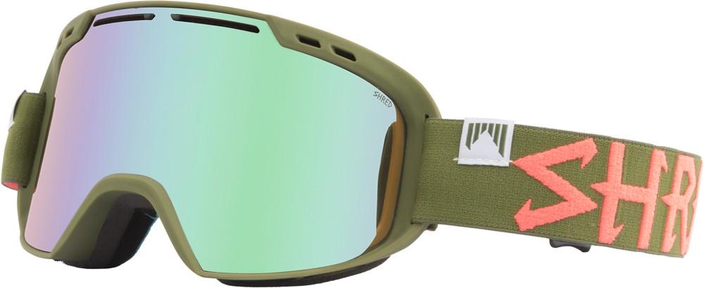Shred Amazify TROOPER (acid reflect) goggles, 2017