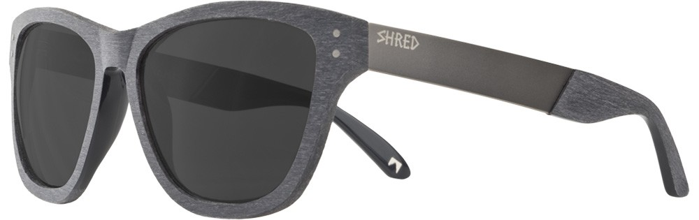 Shred Axe Brushalloy Charcoal Sunglasses